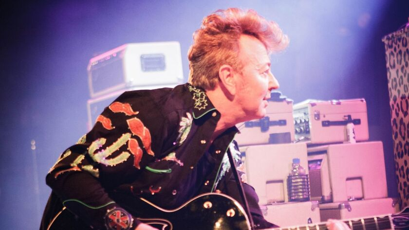 Brian Setzer plays at the Belly Up in Solana Beach on Dec. 30.
