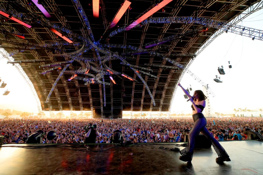 Noah Cyrus at Coachella.