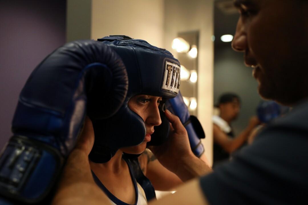 LAPD boxer