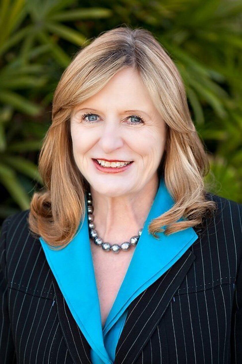 Leslie Kilpatrick, 2014 president of the San Diego Association of Realtors