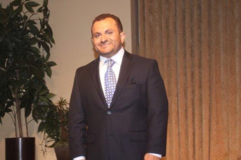 Total Career Makeover co-winner Gaston Farina.