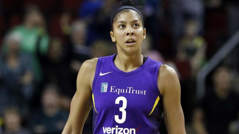 Candace Parker had 16 points and 7 rebounds in her return for the Sparks.