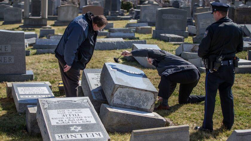 Philadelphia Jewish cemetery