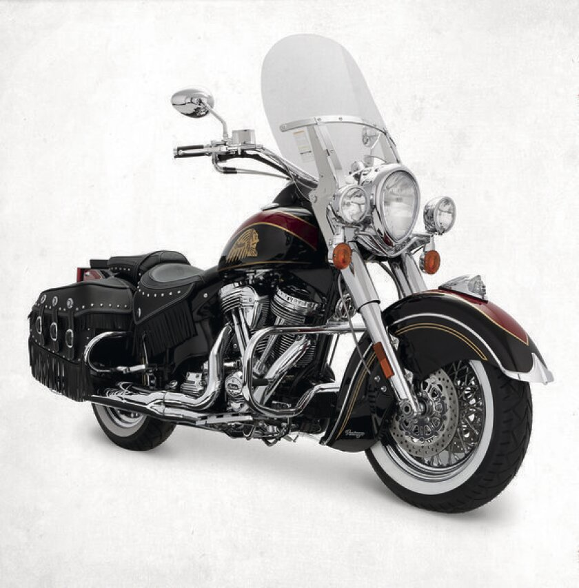 Indian Chief roars into history with 'Final Edition'