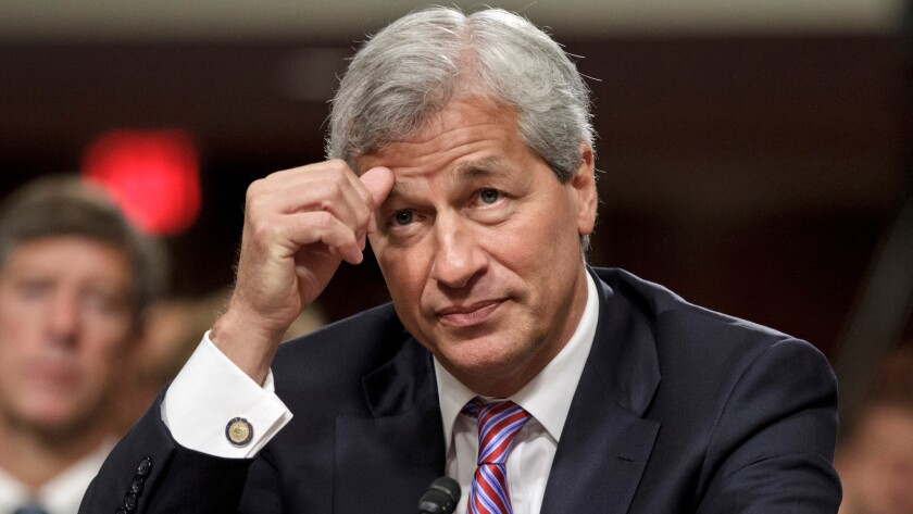 JPMorgan Chairman and CEO Jamie Dimon sweat just a bit during a 2012 congressional investigation into his bank's trading loss, but he survived.