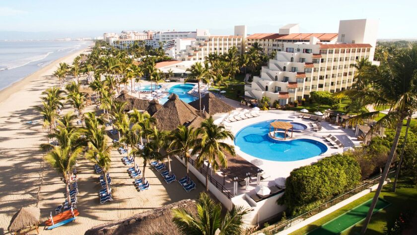 The all-inclusive oceanfront Occidental Nuevo Vallarta has slashed rates by 30 percent through April