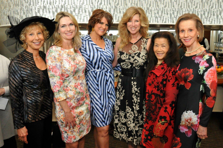 Pam Babcock, Cheryl Giustiniano, Aimee Meals, Kristi Pieper, Claire Reiss and Joyce Dostart