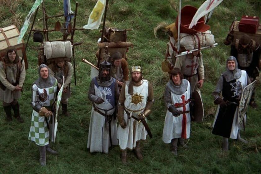 The five surviving members of Monty Python are reuniting.