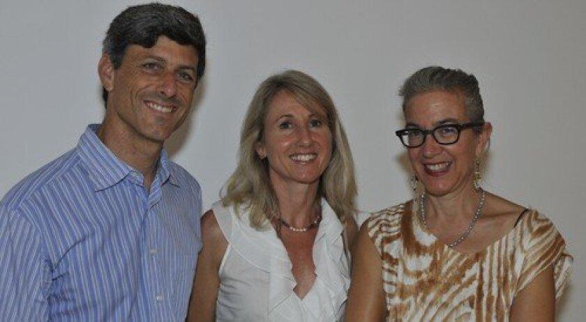 Scott Levin, Fiona Bechtler-Levin, Ann Agee (Photo: Rob McKenzie)