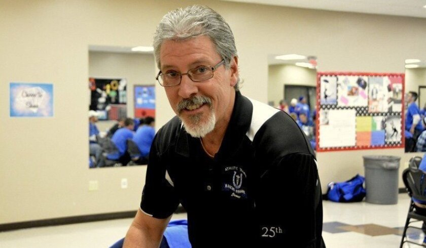 Robbie Bowers has been the head athletic trainer at Rancho Bernardo since the school opened in 1990.