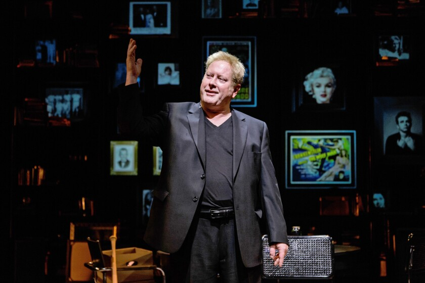 "Darrell Hammond stars in ""The Darrell Hammond Project"" at La Jolla Playhouse."