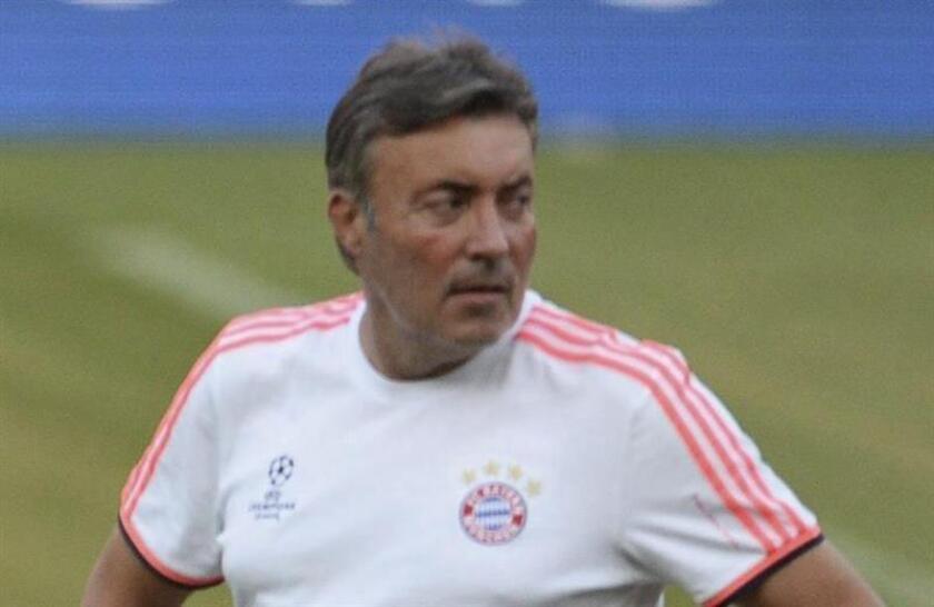 En la imagen, el entrenador del New York City, el español Domenec Torrent. EFE/Archivo
