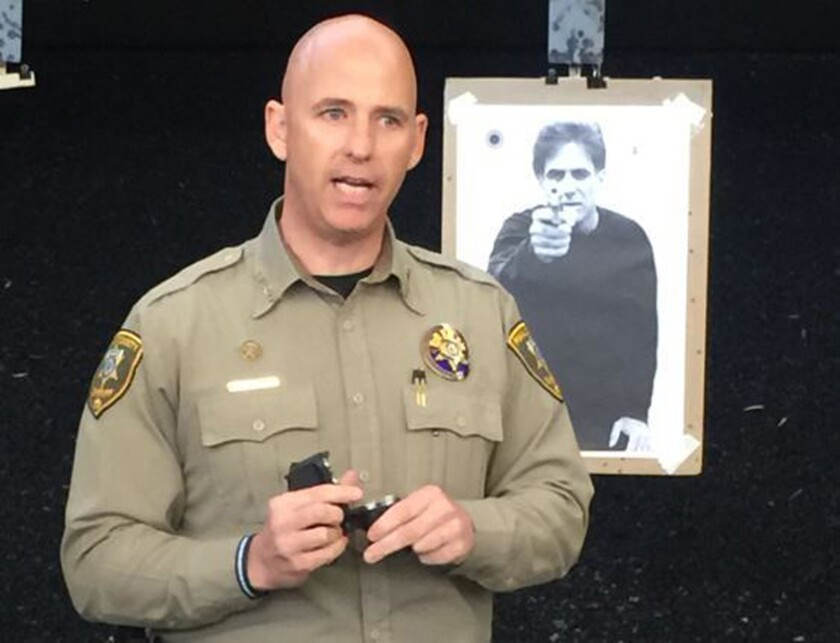 Pinal County Sheriff Paul Babeu says his department will add to its arsenal a handgun that fires rubber projectiles.