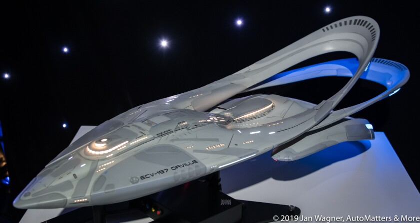 The Orville shooting model at The Orville Experience