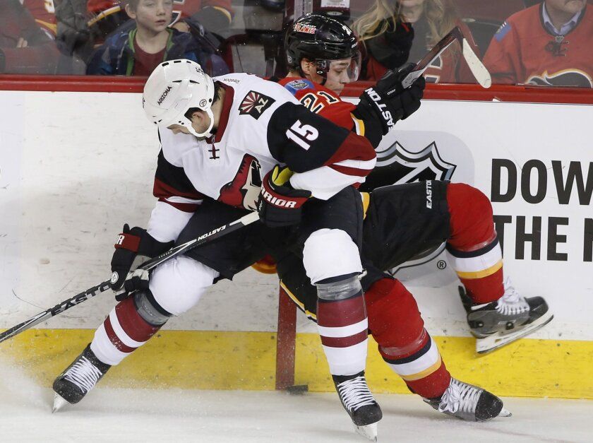 uk availability 3c243 81679 Elliott scores early in 3rd to lift Coyotes over Flames 2-1 ...