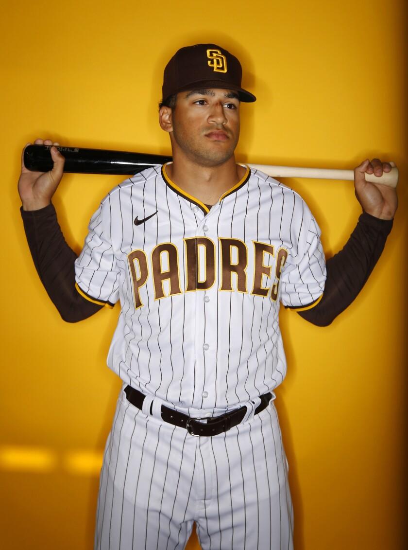 San Diego Padres outfielder Trent Grisham.