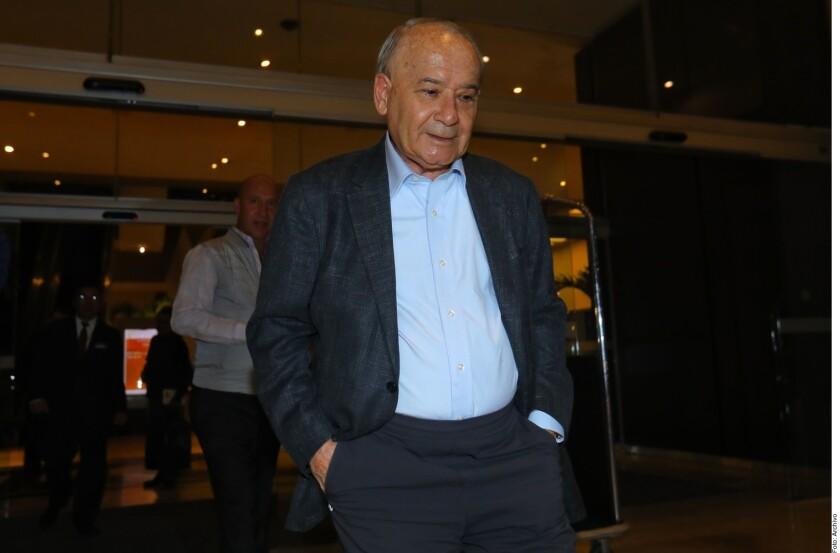 Guillermo Álvarez Cuevas, presidente de Cruz Azul.
