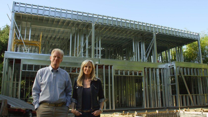 Ed Begley Jr. and Rachelle Carson-Begley are building a LEED platinum home.