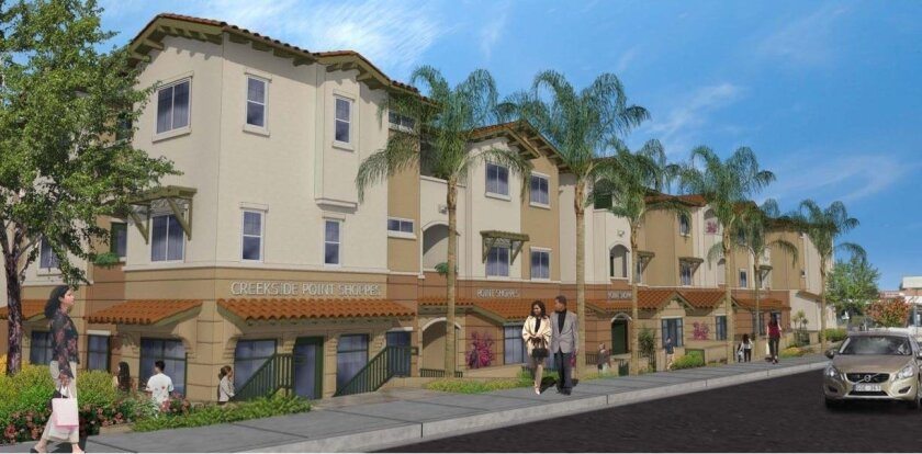 Construction started on Creekside Pointe this week at a site near the intersection of L Street and 3rd Avenue in Chula Vista.