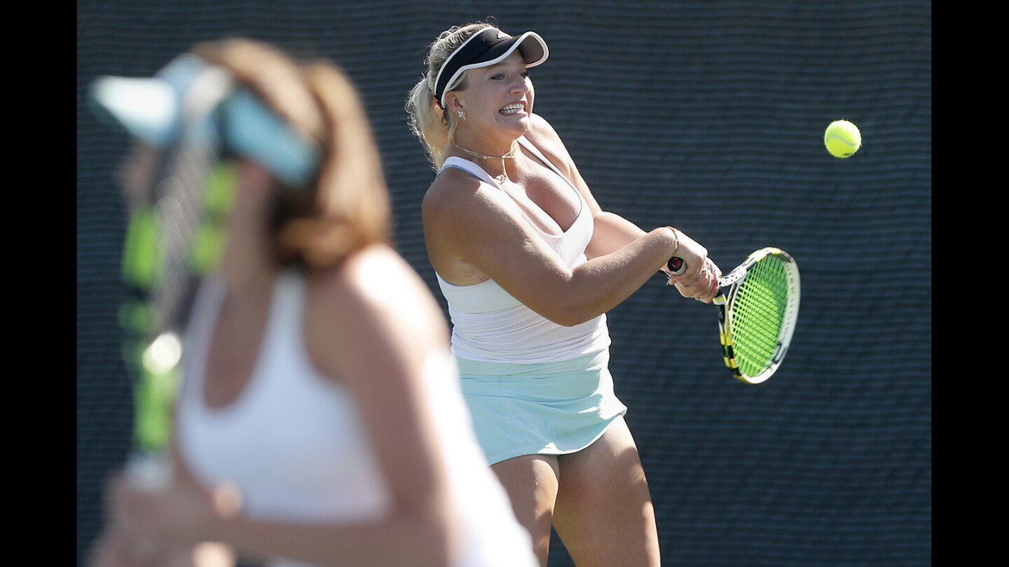 Photo Gallery: Surf League girls' tennis finals