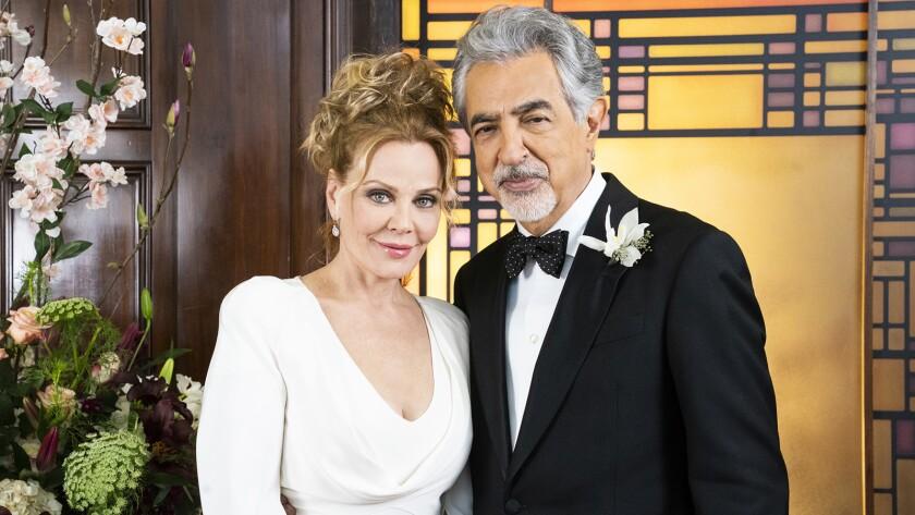 "Gail O'Grady and Joe Mantegna star in the season finale of ""Criminal Minds"" on CBS."