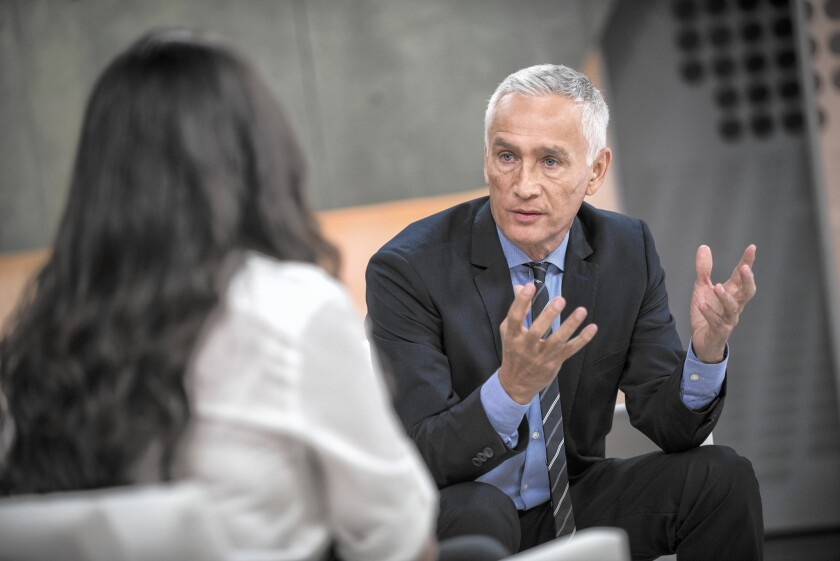 Univision news anchor Jorge Ramos has been an outspoken supporter of a path to citizenship for immigrants living in the country illegally.