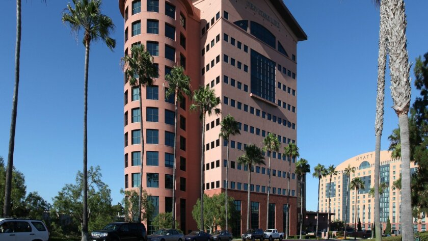 The Aventine office building in the University Towne Centre area posted a 36% rental increase in 2012.