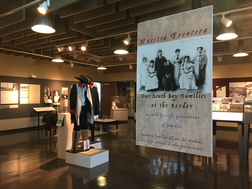 """""""Nuestra Frontera: Our South Bay Families at the Border"""" displays 250 years of history based on interviews, photographs and records."""
