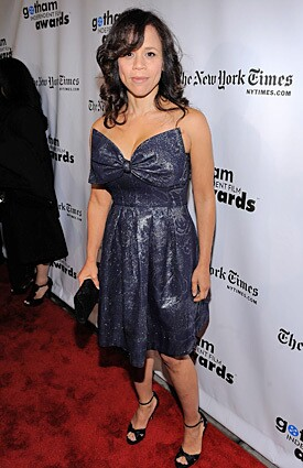 The actress arrives at IFP's 19th Annual Gotham Independent Film Awards at Cipriani, Wall Street.