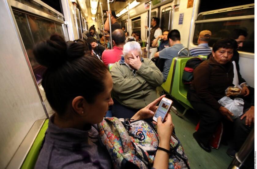 El internet de la Línea 7 fue estrenado este lunes por los usuarios con quejas sobre el servicio del Metro.