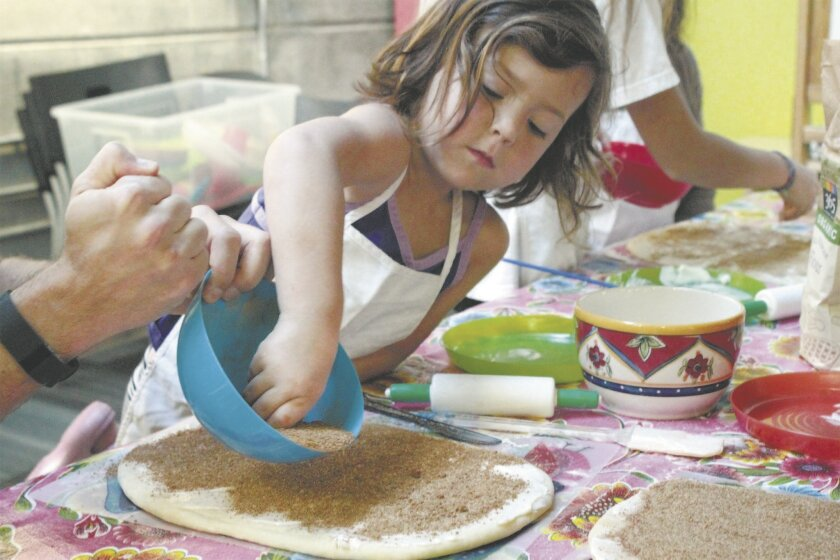 Kids and their parents can create Valentine treats at the New Children's Museum's cooking class.