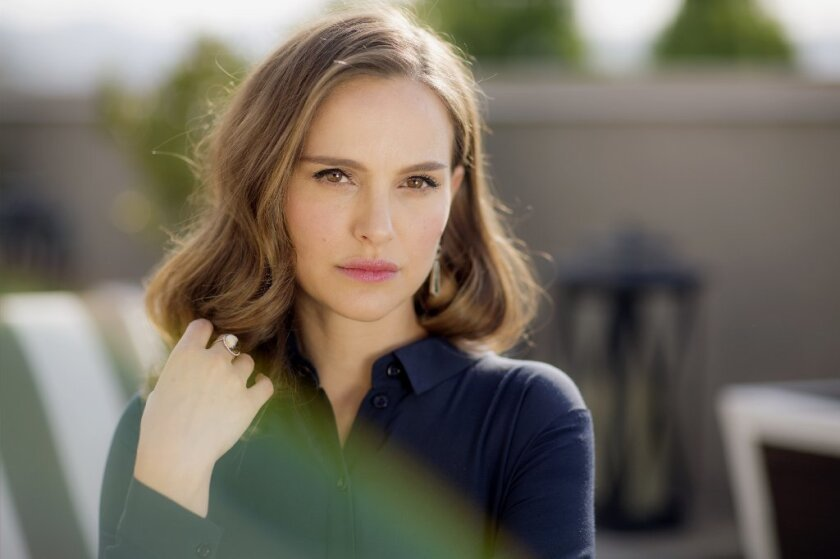 """Though Natalie Portman doesn't particularly resemble Jackie Kennedy, adding a bouffant wig helped her feel the part for her film """"Jackie."""" """"As soon as I looked in the mirror I had more confidence,"""" Portman says."""