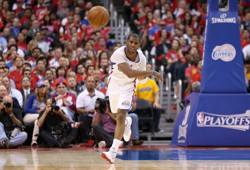 Clippers' Chris Paul has time to rest hamstring injury