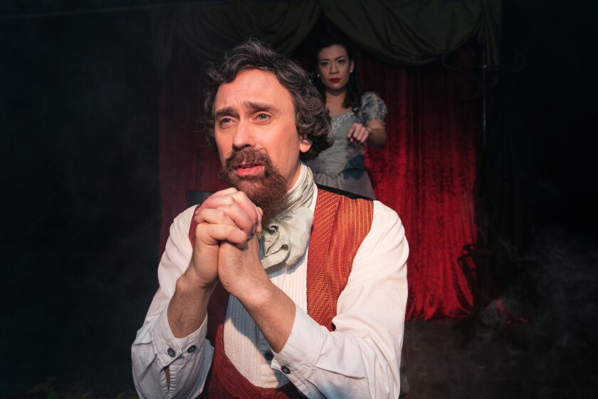 """""""A Christmas Carol With Charles Dickens"""" at Independent Shakespeare Co."""