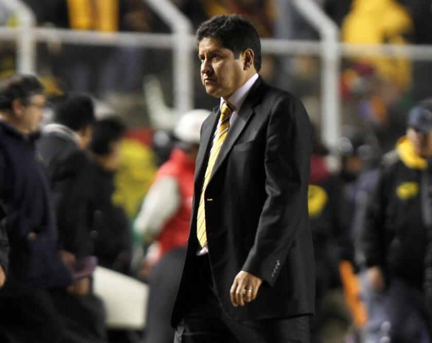 El director técnico del San José de Bolivia, Eduardo Villegas. EFE/Archivo