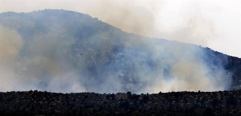 El agente de la Patrulla Fronteriza Dennis Dickey se declaró culpable de provocar un incendio forestal en el sur de Arizona, informó hoy la Fiscalía. EFE/ARCHIVO