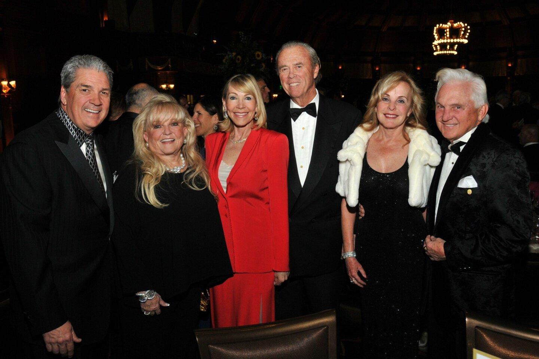 Dan Moore, Diane Clarke, Linda and Don Swortwood, Janice and Dr. Richard Richley