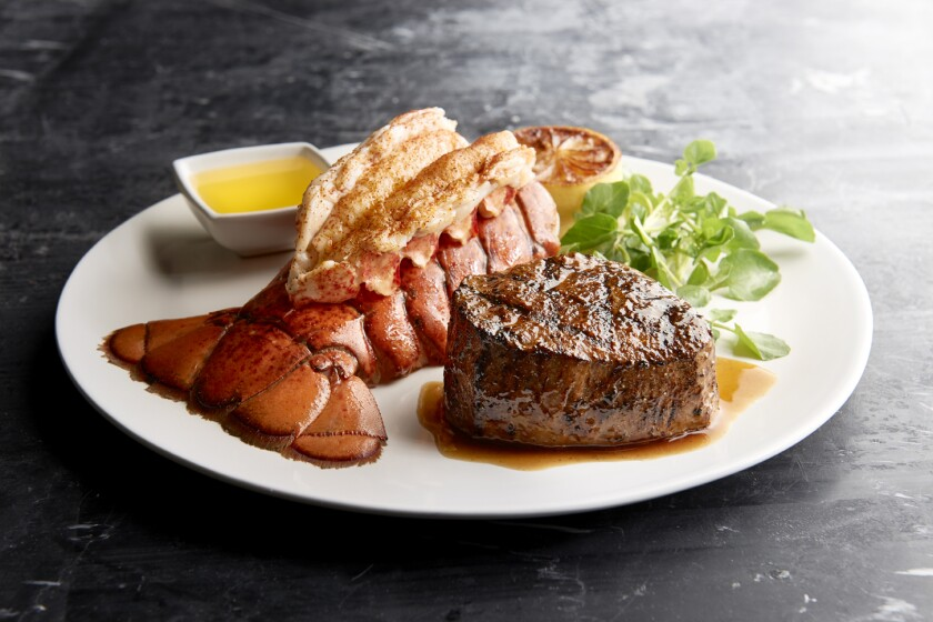 6oz. Center-Cut MRT Filet Mignon and Cold Water Lobster Tail; Photo Credit Landry's.jpg
