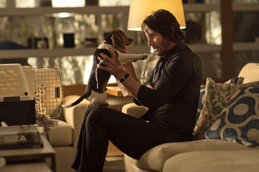 """Keanu Reeves in """"John Wick."""""""