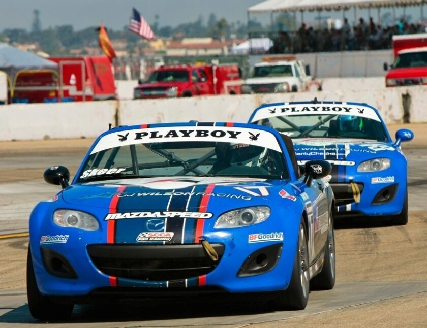 Elliott Skeer will be among about 20 racers this weekend in the Playboy Mazda MX-5 Cup Series.