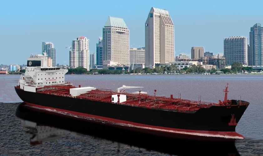 The product carrier that NASSCO will build for Seabulk Tankers will have a 330,000 barrel capacity.