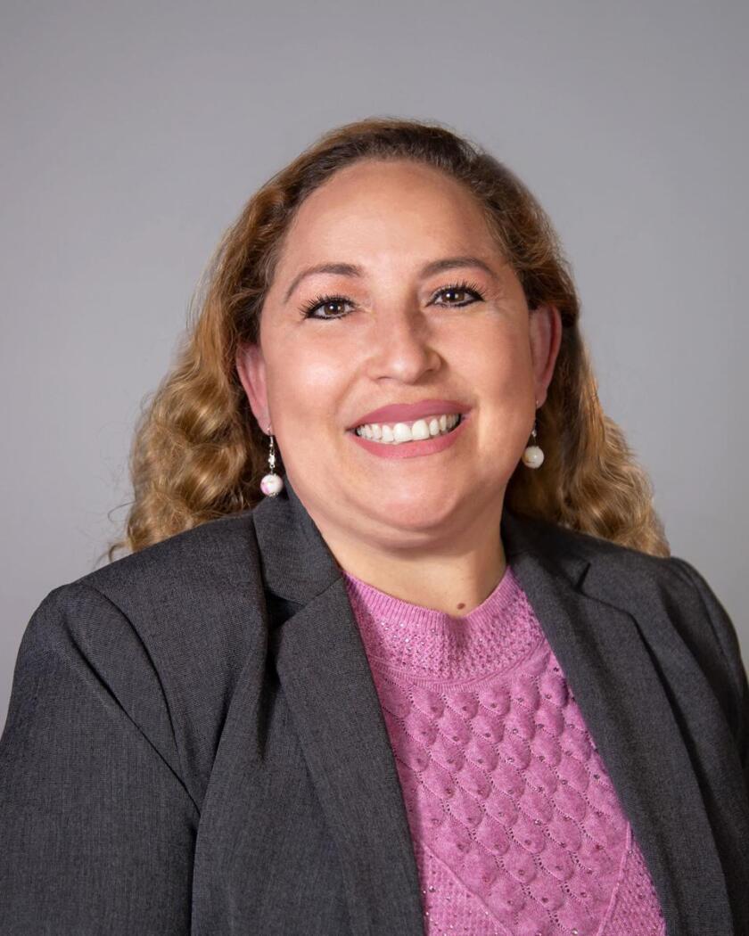 Lennox school board member Angela Fajardo