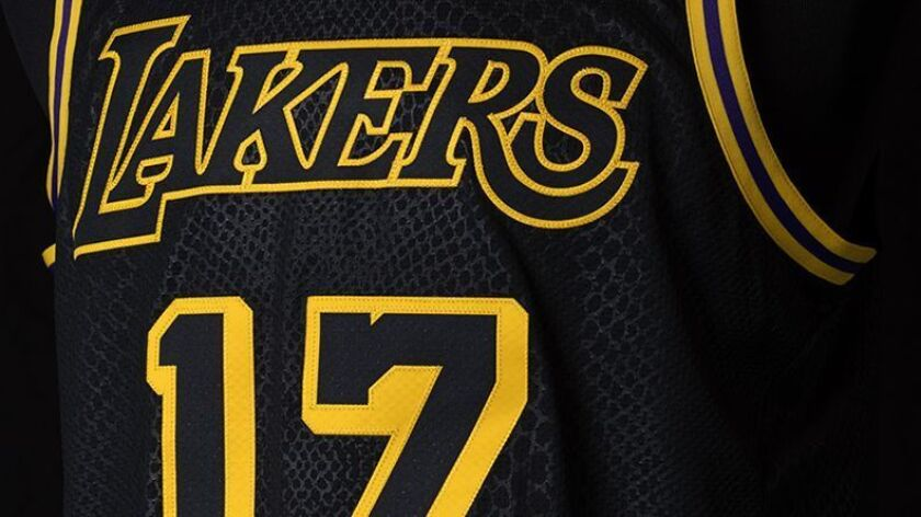 purchase cheap 410dd 80024 Lakers debut new Kobe Bryant-inspired 'City Edition' jersey ...