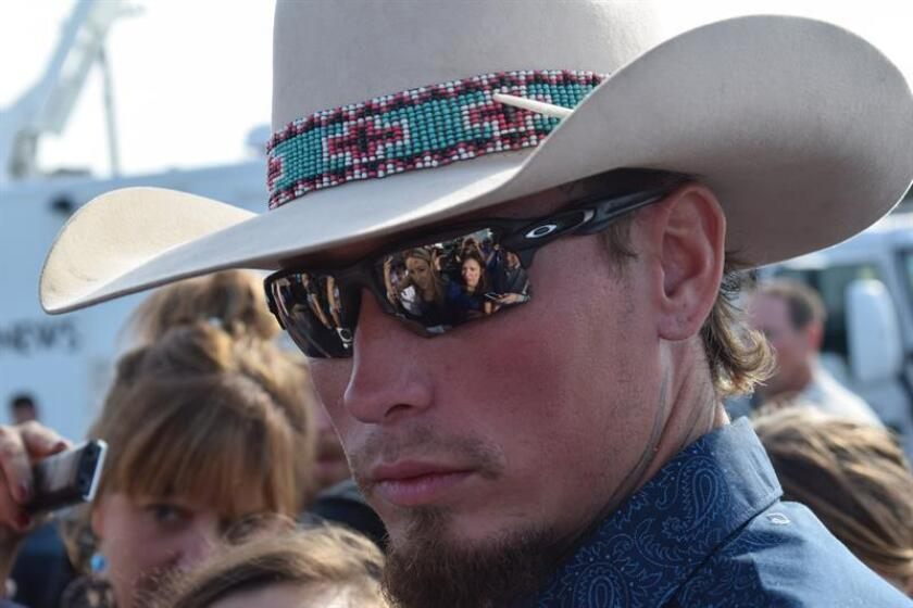 "Johnnie Langendorff, el ""cowboy"" que persiguió al asesino de la iglesia"