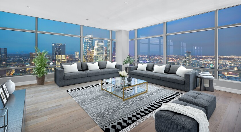 Jim Buss's downtown L.A. condo | Hot Property