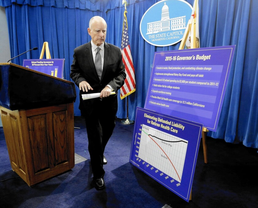 Gov. Jerry Brown unveiled his budget proposal last week. His plan includes $17.7 billion for healthcare for poor Californians and $1.7 billion in financial aid for university students, but critics say not enough money has been returned to government welfare programs.