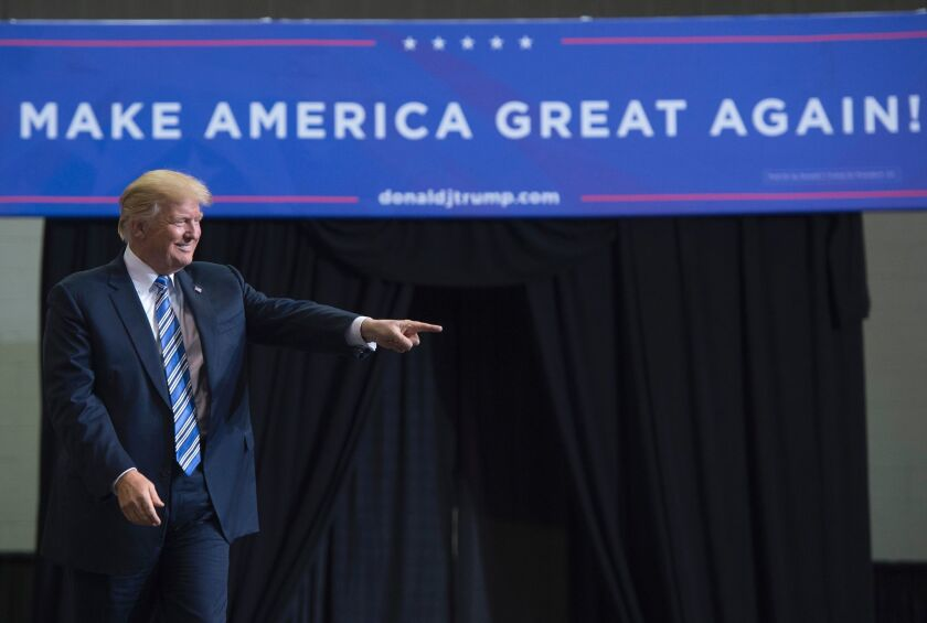 President Trump's latest campaign slogan just can't match his 2016 catchphrase.
