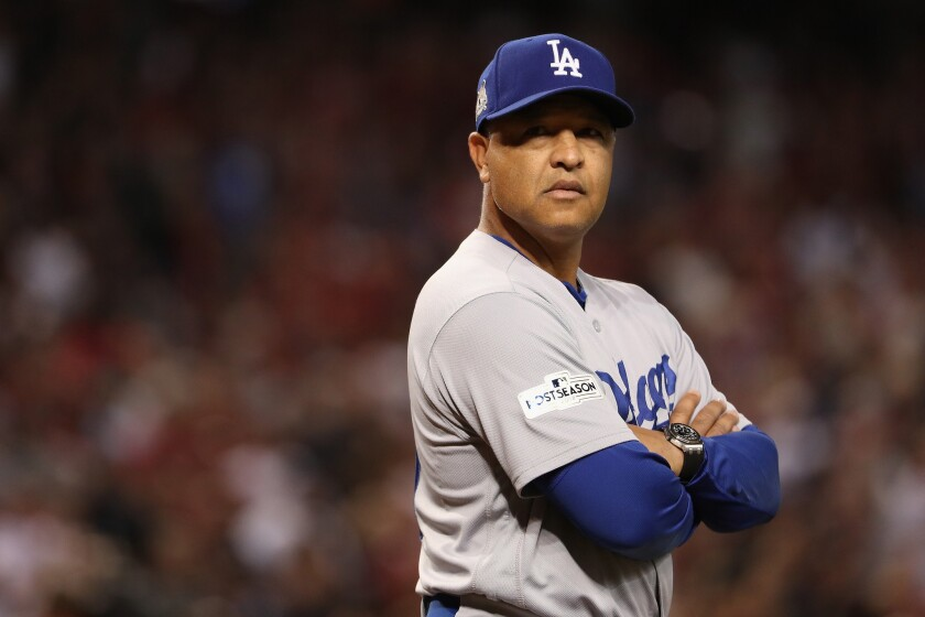Dave Roberts is expected to return next season as Dodgers manager.