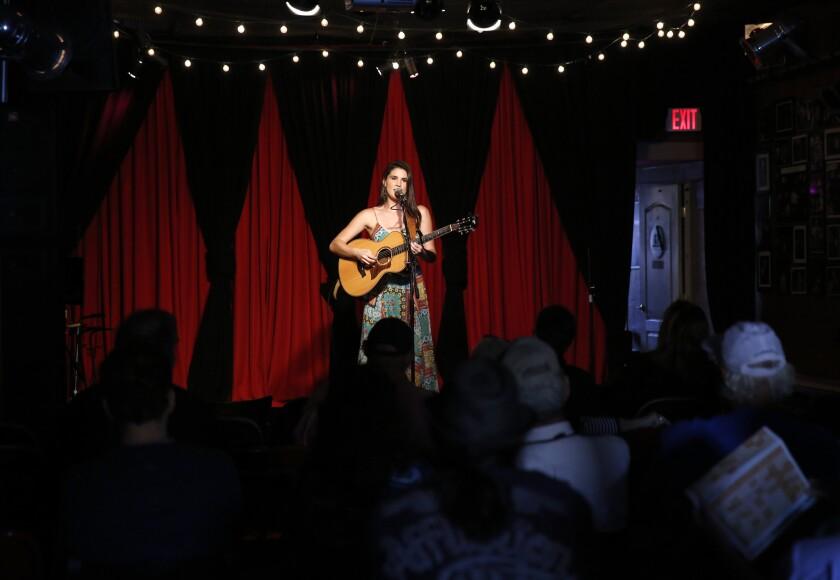 Nina Francis performs at Lestat's