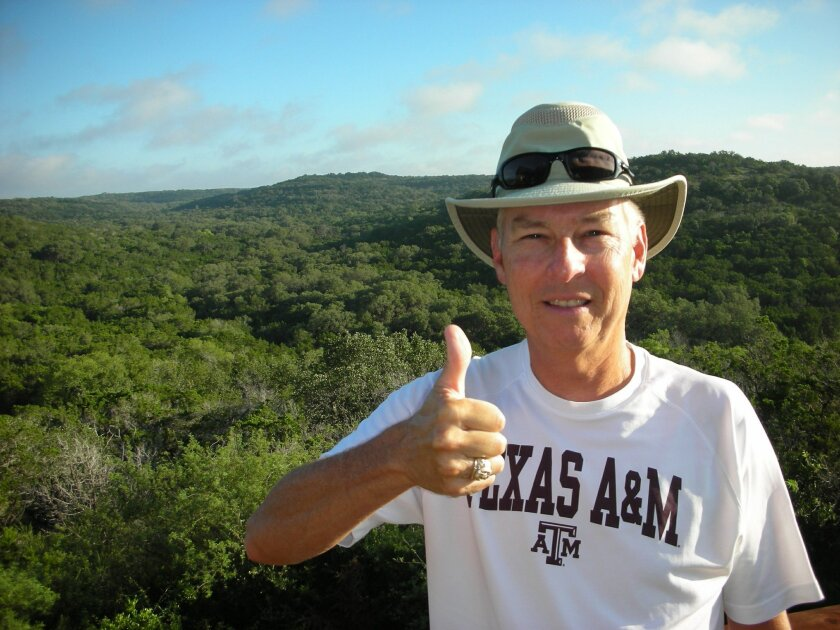 Texas A&M alumnus John Ball will take on a coast-to-coast walk to raise funds for an endowed scholarship ring program. Courtesy